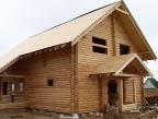 Деревянный дом со сруба