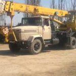 Автокран КС-4574 - КрАЗ-250
